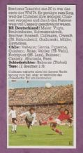 West Germany v Chile Cullmann 1974 World Cup